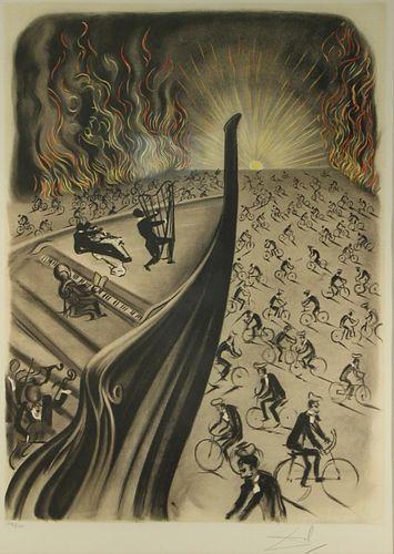 SALVADOR DALI (SPANISH, 1904-1989).