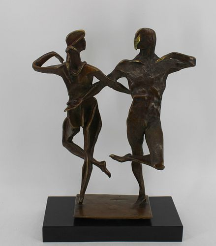 George Gach (USA 1909 - 1996) Bronze Dancers.