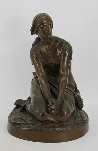 Henri Michel Antoine Chapu (FR 1833 - 1891) Signed