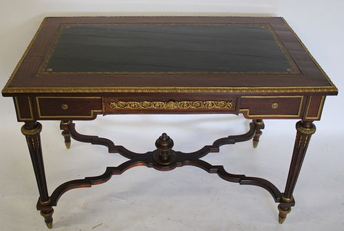 Fine Quality Bronze Mounted Louis XV1 Style
