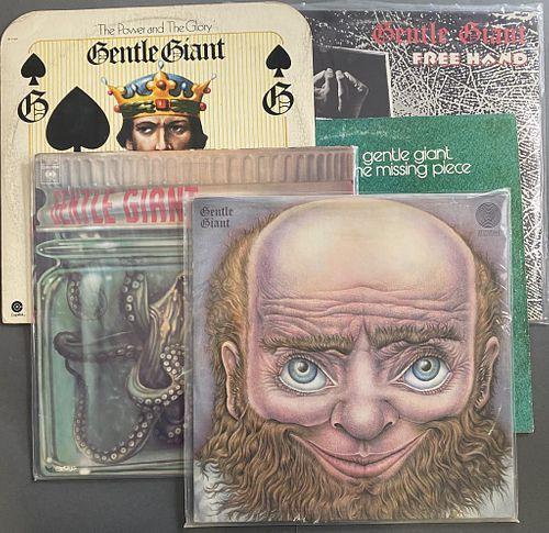 Five Gentle Giant Albums