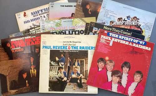 Collection of Paul Revere and the Raiders