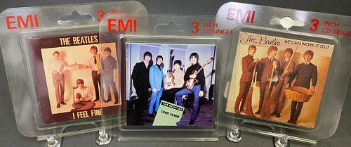 "The Beatles 3"" UK CD Singles"