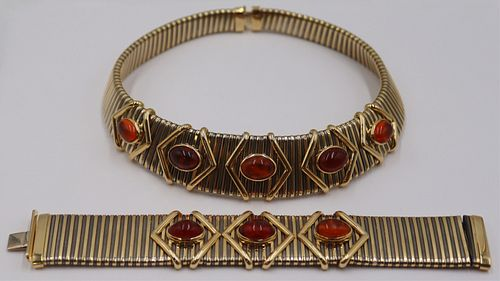JEWELRY. Bvlgari STYLE 18kt Gold and Colored Gem