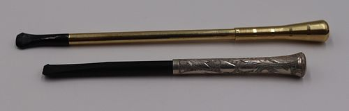 GOLD. Vintage German 14kt Gold Cigarette Holder.