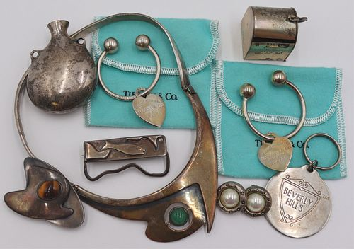 JEWELRY. Silver Jewelry and Objects Inc. Tiffany.