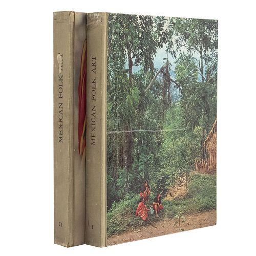 The Ephemeral and Eternal of Mexican Folk Art. México: Fondo Editorial de la Plástica Mexicana, 1971. Piezas: 2.
