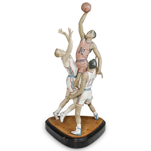 """Lladro """"To The Rim"""" Porcelain Grouping"""