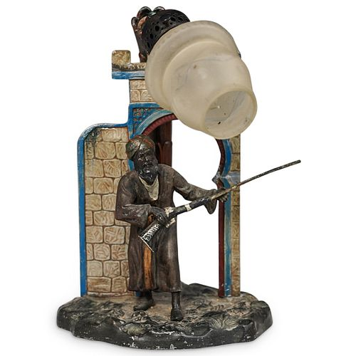 Franz Bergman Vienna Style Orientalist Lamp