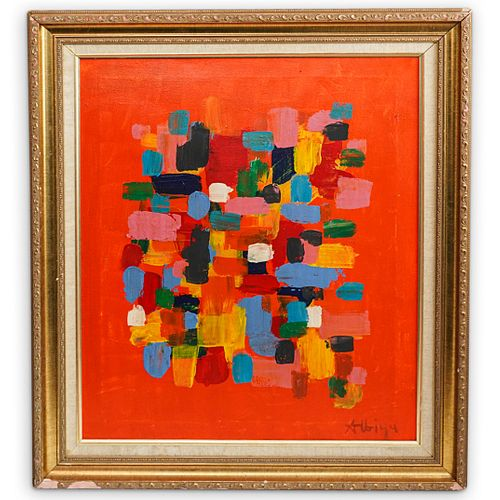 Attrib. Olga Albizu (Puerto Rico. 1924-2005) Painting