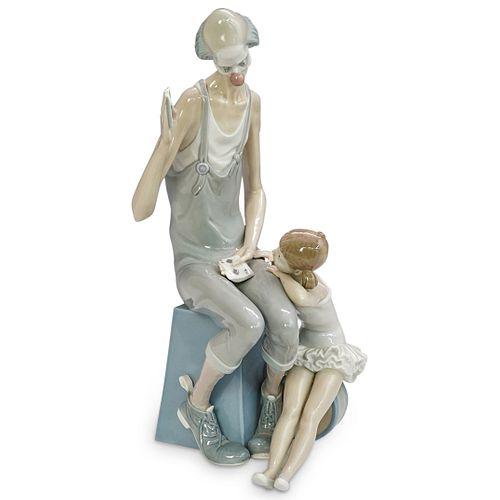 "Lladro ""Magic"" Porcelain Group"