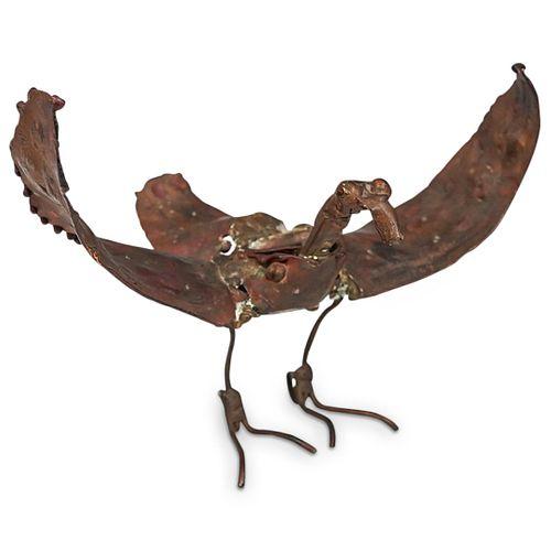 Brutalist Bird Sculpture