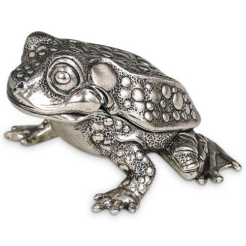 Reed & Barton Frog Music Box