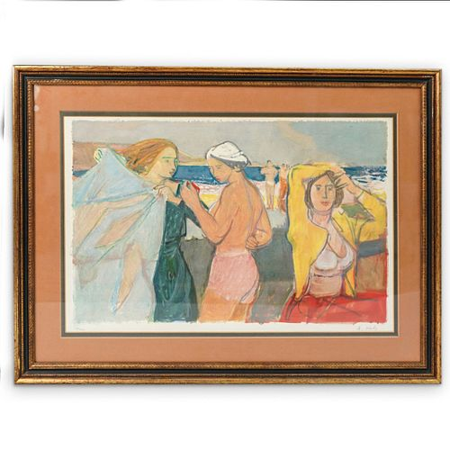 Adrien Holy (1898-1979) Lithograph In Color
