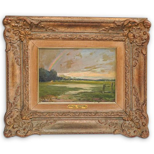 Charles Lefevre (French, 1813) Oil Painting