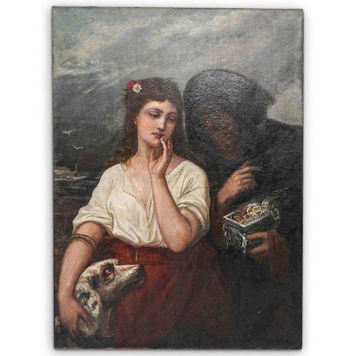 Large European Painting