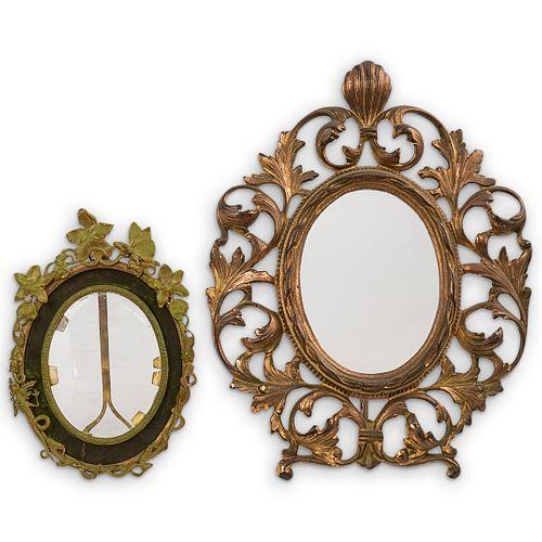 (2 Pcs) Bronze Table Frames