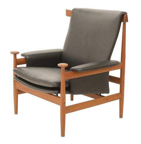 A teak 'Bwana' armchair