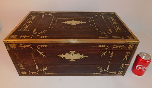 ANGLO INDIAN INLAID LAP DESK
