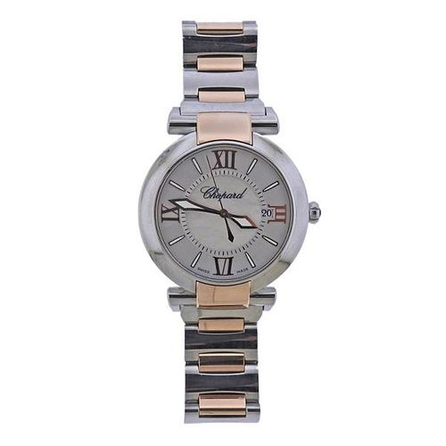 Chopard Imperiale Rose Gold Steel Mother of Pearl Watch 8531