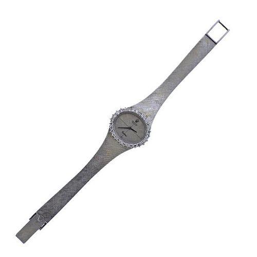 Rolex Cellini 18k Gold Diamond Lady's Watch