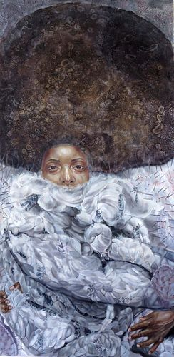 Crystal Marshall (Jamaican, b. 1983) Wool I