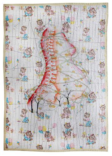 Dominique Vitali (Italian American, b. 1968) Baby Blanket