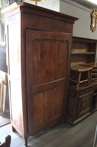 18th Century French Provincial Armoire.