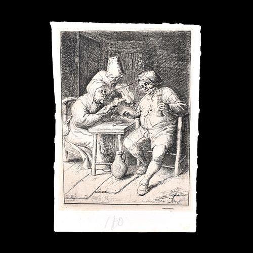 Adriaen Jansz van Ostade, Dutch (1610 - 1685)