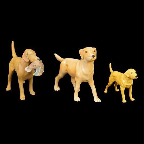 Assorted Dog Figurines