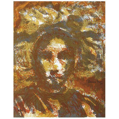 FRANCISCO CORZAS, Sin título, Firmada y fechada 73, Litografía 70 / 130, 52 x 41 cm | FRANCISCO CORZAS, Untitled, Signed and dated 73, Lithography 70