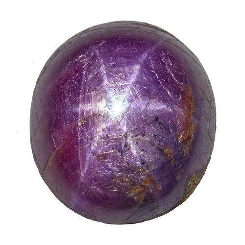 Unmounted Star Ruby Cabochon