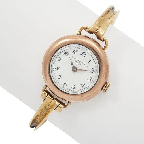 Ladies Patek Philippe 14k Bracelet Watch