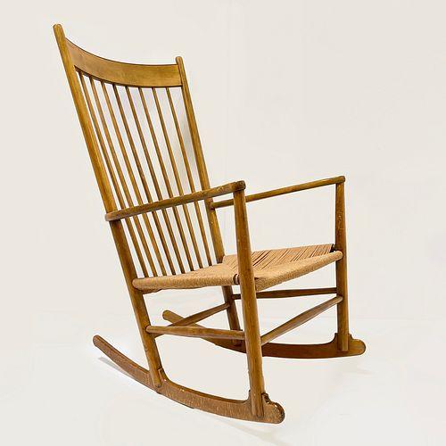 Hans Wegner (1914-2007 Danish) Rocking Chair