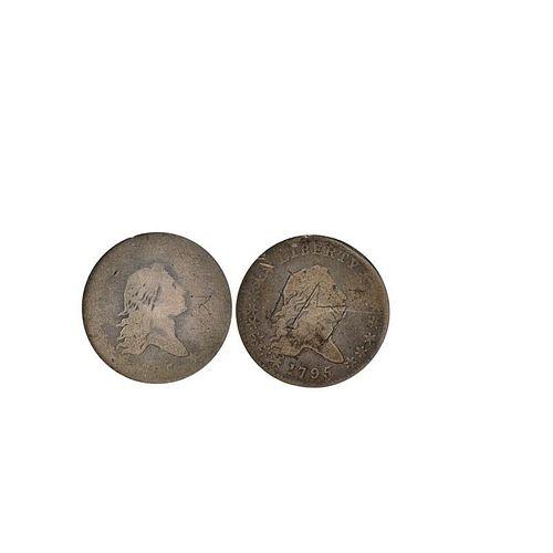 1795 50C. COINS