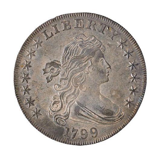 U.S. 1799 DRAPED BUST $1.00 COIN