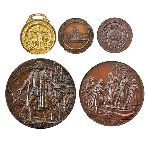 EXPOSITION MEDALS