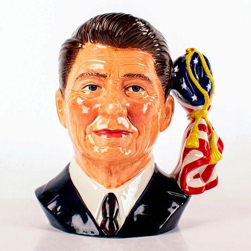 Ronald Reagan D6718 - Large - Royal Doulton Character Jug