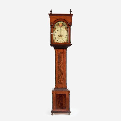 Pennsylvania Tall-Case Clock by Samuel Hofford, 19th c.