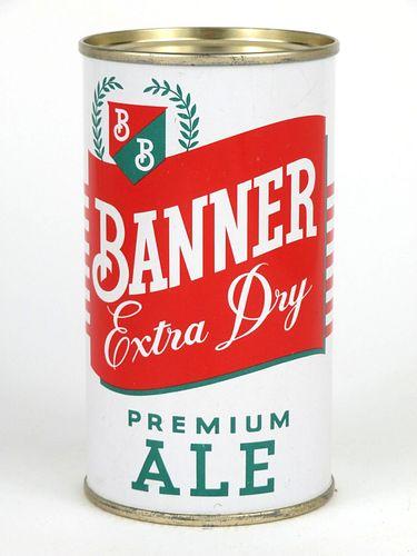 1954 Banner Premium Ale 12oz Flat Top Can 100-31