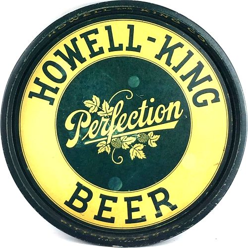 1933 Perfection Beer 14 inch Serving Tray