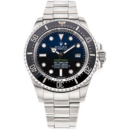 RELOJ ROLEX OYSTER PERPETUAL DATE DEEPSEA SEA - DWELLER EN ACERO REF. 116660  Movimiento: automático.