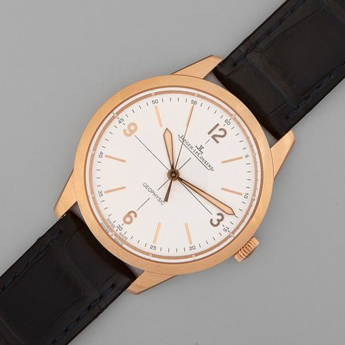Jaeger LeCoultre, Limited Edition Pink Gold Geophysic Automatic Wristwatch