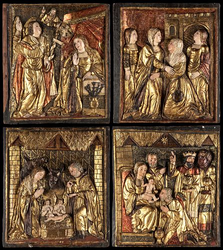 Renaissance school, the first third of the sixteenth century. Master of the environment or workshop of FELIPE DE BIGARNY (Langres, France, 1475 - Tole