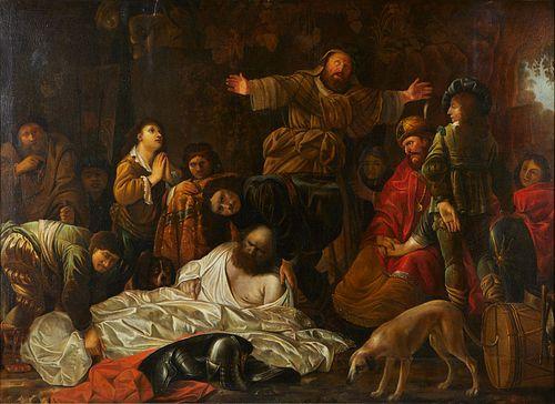 Attr. Gerrit Willemsz Horst Humiliation of King Ahab
