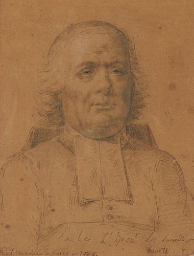 Gregoire Portrait of Charles Michel de l'Eppee