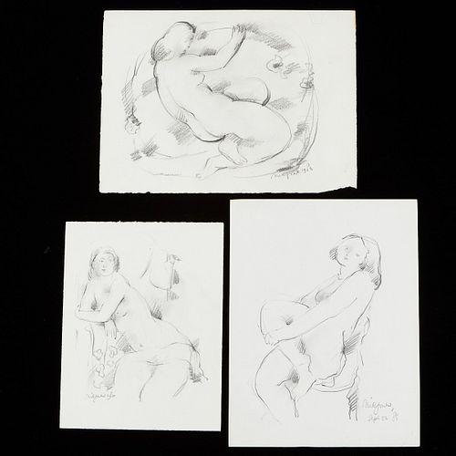 Grp: Nic Jonk Drawings Nudes