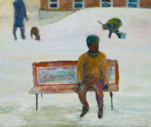 Daniel Kaniess Oil on Board Painting