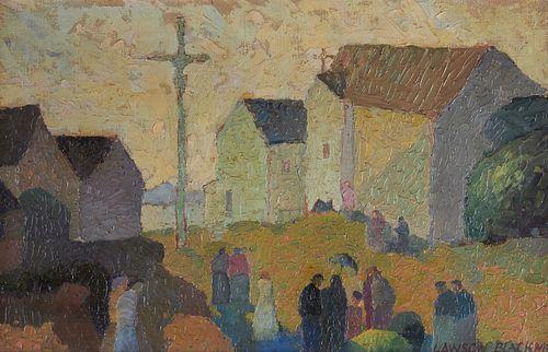 Thomas Lawson Blackmon Painting on Canvas