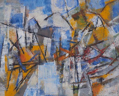 Pierre Mantra MCM Painting 1957